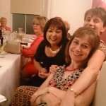 Angela, Julie and Karen enjoying a few drinks at Oregano for Ladies Captains Night.