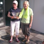 Lady President Gaby Considine with Presidents Weekend Winning Captain Marie Devlin.