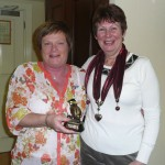 June Abernethy with our Weekend Away Winner Vicky Kell